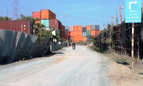 """Xe container """"vây"""" khu đô thị - ảnh 17"""