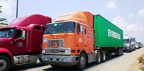 """Xe container """"vây"""" khu đô thị - ảnh 3"""