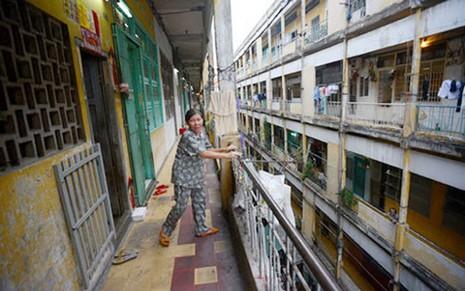 Sẽ bố trí tái định cư khi cải tạo chung cư cũ - ảnh 1