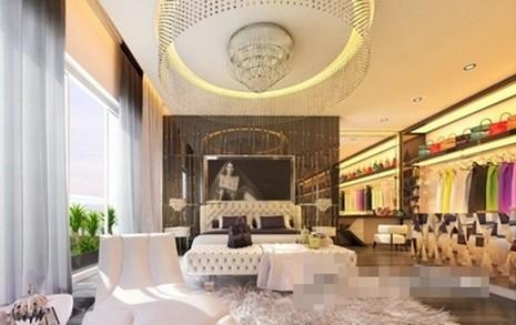 Choáng ngợp căn hộ trắng 20 tỷ đồng của Ngọc Trinh - ảnh 9