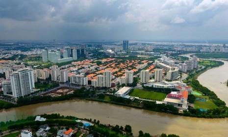 Toàn cảnh khu nhà giàu Sài Gòn bị mùi hôi bao phủ - ảnh 3