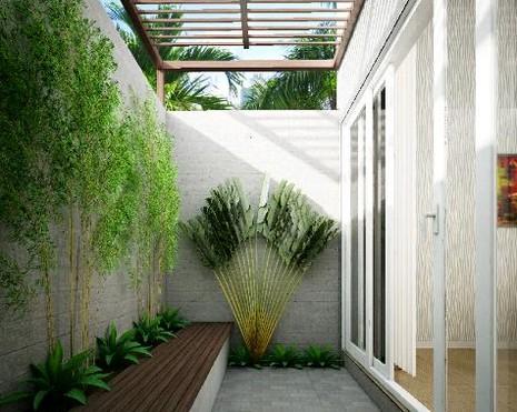 Ngôi nhà 4 tầng ngập tràn mảng xanh đẹp mê ly - ảnh 3