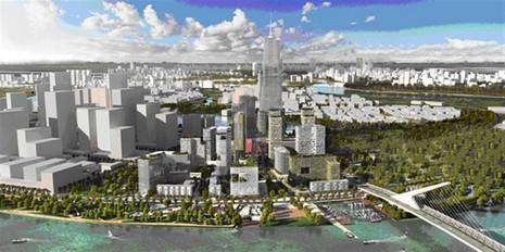 TP.HCM giao đất xây tòa tháp 86 tầng tại Thủ Thiêm - ảnh 1
