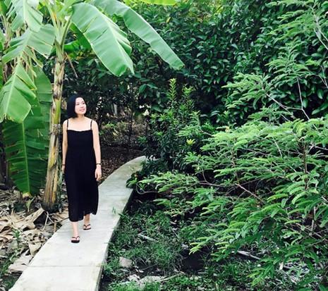 Biệt thự nhà vườn ngập hoa quả của diễn viên Việt Trinh - ảnh 2