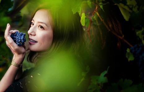 Vườn nho xanh tốt trong lâu đài tuyệt đẹp của Triệu Vy - ảnh 1