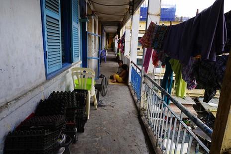 TPHCM: Cận cảnh thót tim ở chung cư Vĩnh Hội - ảnh 16