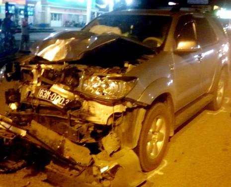 Tai nạn giao thông với xe biển số xanh, 1 người tử vong - ảnh 3