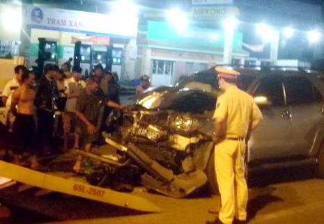 Tai nạn giao thông với xe biển số xanh, 1 người tử vong - ảnh 4