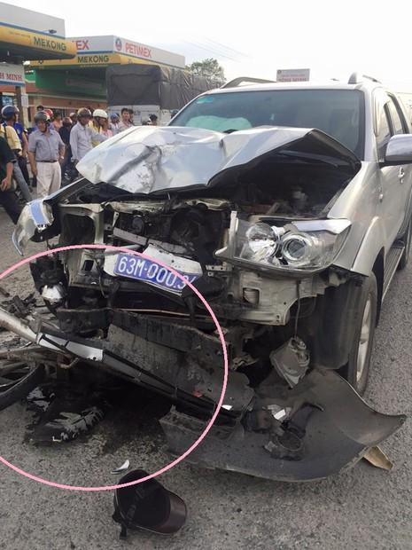 Tai nạn giao thông với xe biển số xanh, 1 người tử vong - ảnh 2