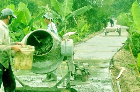 Xây dựng nông thôn mới: Tuyệt đối không bắt buộc dân đóng góp - ảnh 1