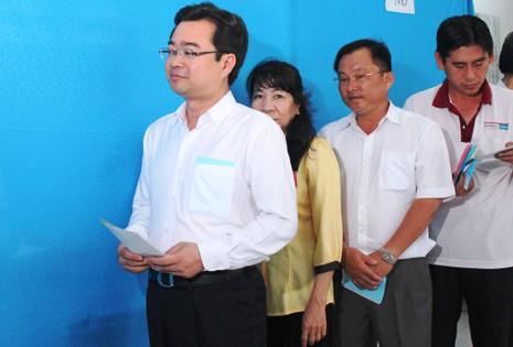 Bí thư Nguyễn Thanh Nghị cùng hơn 1 triệu cử tri Kiên Giang đi bầu cử - ảnh 1