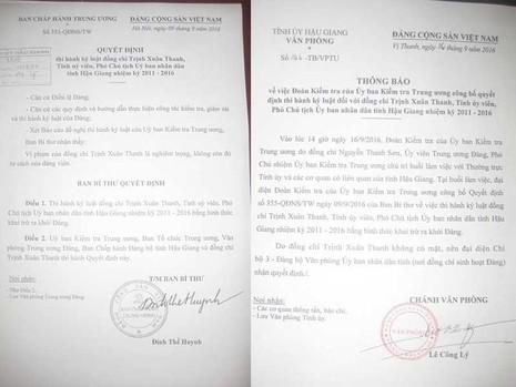 Chính thức triển khai quyết định khai trừ Đảng ông Trịnh Xuân Thanh - ảnh 2