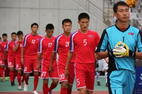 CHDCND Triều Tiên có lực lượng rất mạnh cho trận giao hữu với đội tuyển Việt Nam trên sân Thống Nhất