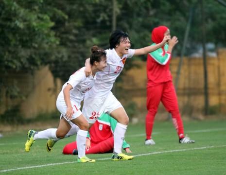 Tuyển nữ U-19 Việt Nam đoạt vé vòng chung kết châu Á - ảnh 3