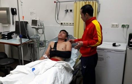 Chấn thương của Tiến Dụng khiến anh lỡ hẹn vòng chung kết U-20 World Cup 2017.