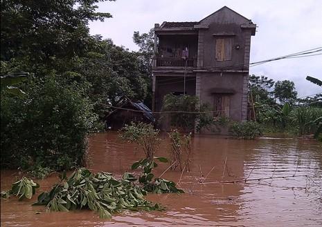 Bốn người chết, gần 2.000 ngôi nhà ngập sâu do mưa lũ - ảnh 4