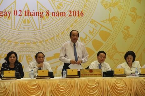 Bộ trưởng Chủ nhiệm VPCP