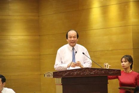 Bộ trưởng Chủ nhiệm VP Chính Phủ Mai Tiến Dũng