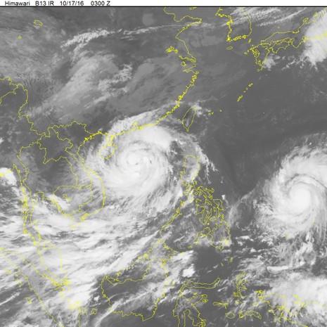 2 siêu bão nối đuôi nhau tiến vào biển Đông - ảnh 1