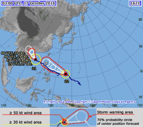 2 siêu bão nối đuôi nhau tiến vào biển Đông - ảnh 2