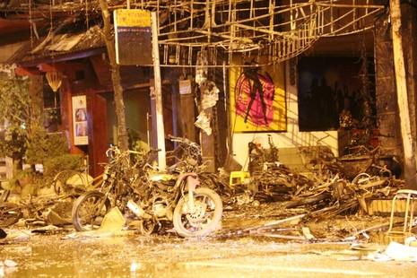 13 nạn nhân tử vong trong vụ cháy quán karaoke ở Hà Nội - ảnh 8