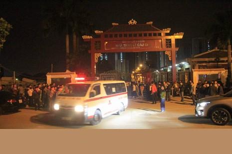 13 nạn nhân tử vong trong vụ cháy quán karaoke ở Hà Nội - ảnh 1