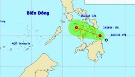 Miền Bắc lạnh kéo dài, áp thấp nhiệt đới trên biển Đông - ảnh 1