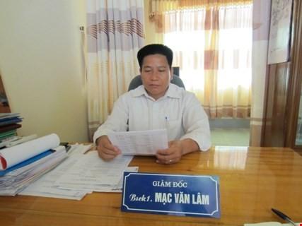 Giám đốc trung tâm y tế 'cắt xén' tiền xây dựng trung tâm - ảnh 1