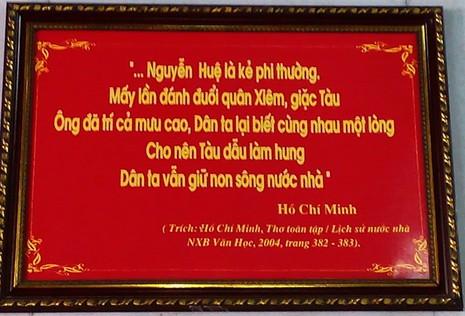 Phát thẻ ấn 'Quang Trung linh từ' tại lễ kỷ niệm chiến thắng Ngọc Hồi-Đống Đa - ảnh 2