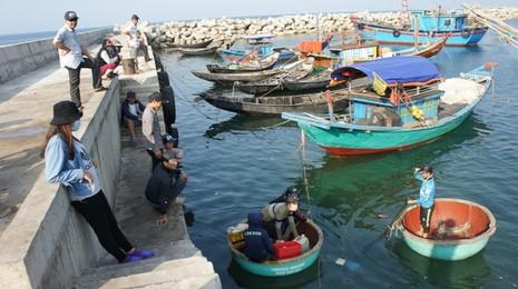 Hà Tĩnh: Công bố kết quả quan trắc nước biển ở 8 bãi tắm - ảnh 1