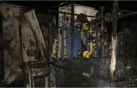Cháy lớn ở dự án thép Vạn Lợi tại Vũng Áng - ảnh 2