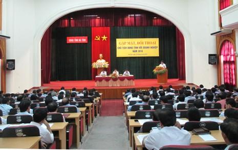 Chủ tịch tỉnh Hà Tĩnh công khai số điện thoại cá nhân  - ảnh 2