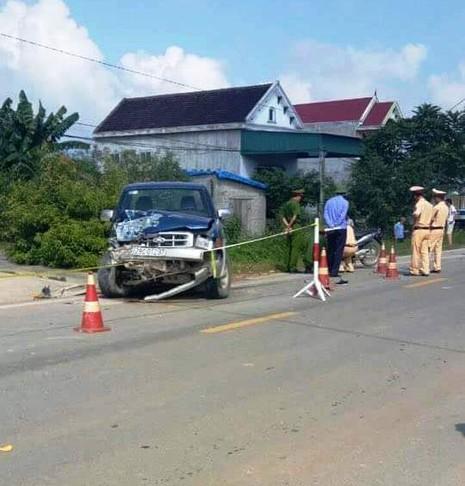Khởi tố chủ tịch xã gây tai nạn, 2 học sinh tử vong  - ảnh 2