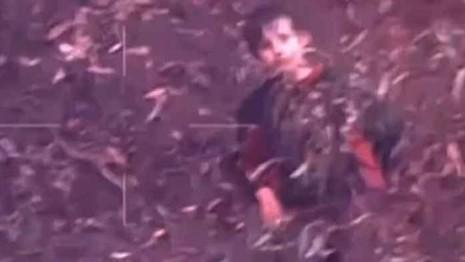 Luke trong một cảnh quay từ camera. Ảnh: SMH