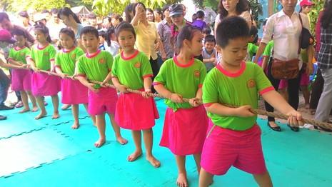 Lần đầu tiên tổ chức Hội thao dành cho trẻ mầm non 5 tuổi - ảnh 2