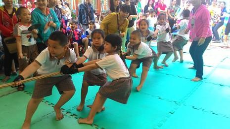 Lần đầu tiên tổ chức Hội thao dành cho trẻ mầm non 5 tuổi - ảnh 1