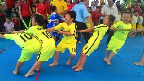 Lần đầu tiên tổ chức Hội thao dành cho trẻ mầm non 5 tuổi - ảnh 4