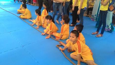 Lần đầu tiên tổ chức Hội thao dành cho trẻ mầm non 5 tuổi - ảnh 7