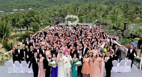 Đám cưới tiền siêu sang của cặp đôi Singapore tại resort Đà Nẵng - ảnh 10