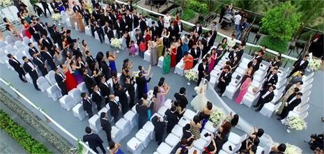 Đám cưới tiền siêu sang của cặp đôi Singapore tại resort Đà Nẵng - ảnh 3