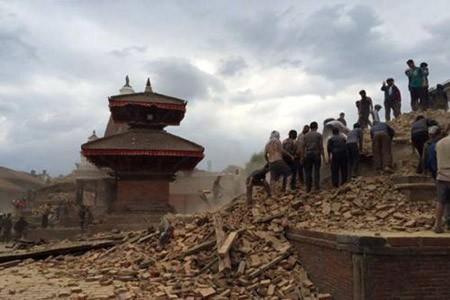 thảm họa, động đất Napal, Hồng Sơn