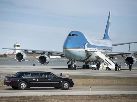 Choáng với 'siêu pháo đài bay' có 1 không 2 của tổng thống Obama - ảnh 10
