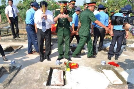Lễ tiếp nhận, truy điệu hài cốt 26 liệt sỹ hi sinh tại chiến trường Lào - ảnh 5