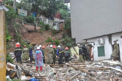 Mưa lớn ở Quảng Ninh: Bị mất tích khi cố cứu con rể bị nước cuốn  - ảnh 2
