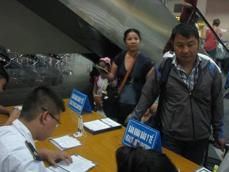 Dừng khai báo y tế đối với hành khách nhập cảnh từ Hàn Quốc  - ảnh 1