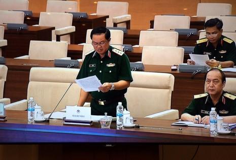 Thường vụ QH cho ý kiến về pháp lệnh quân nhân chuyên nghiệp  - ảnh 1