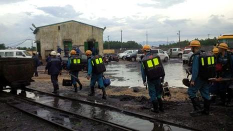 Huy động 200 thợ tinh nhuệ tìm kiếm người mất tích vụ bục túi nước - ảnh 1