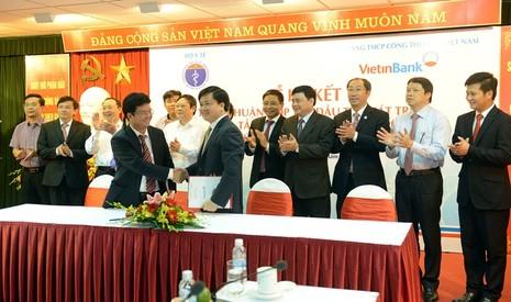 VietinBank đồng hành phát triển với ngành y tế - ảnh 1