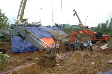 Đường ống nước sông Đà lại gặp sự cố - ảnh 3