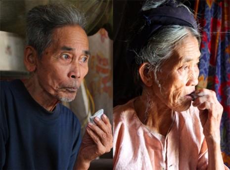 Chùm ảnh: Cặp vợ chồng còn duy trì tục ăn đất cổ xưa - ảnh 14